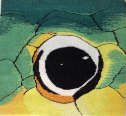 Snake eye tapestry image