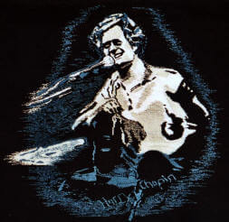 Harry Chapin tapestry image